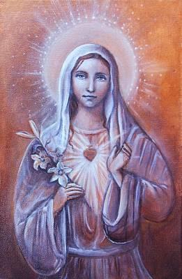 Inner Light Painting - Divine Love by Vera Atlantia