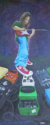 Van Halen Painting - Divine Modulation by Doug  Miller II