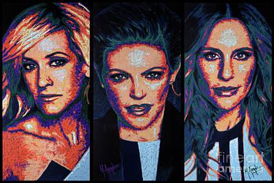 Painting - Dixie Chicks by Maria Arango