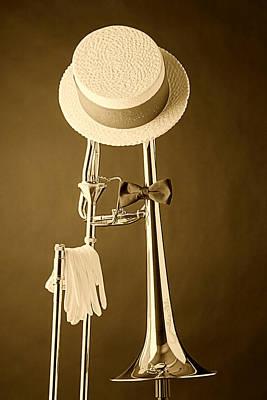 Trombone Photograph - Dixieland Trombone by M K  Miller