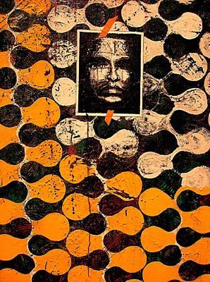 Teosanta Mixed Media - Dna Plus Fingerprints  by Teodoro De La Santa