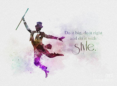 Do It With Style Print by Rebecca Jenkins
