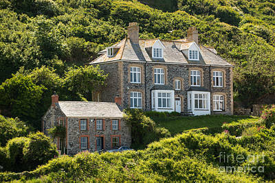 Doc Martin's Surgery Print by Amanda And Christopher Elwell