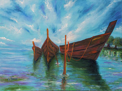 Docking Painting - Docking by Itzhak Richter