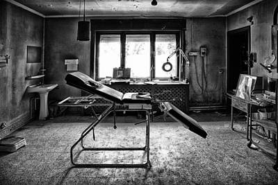 Abandoned Houses Photograph - Doctors Cabinet - Abandoned Building by Dirk Ercken
