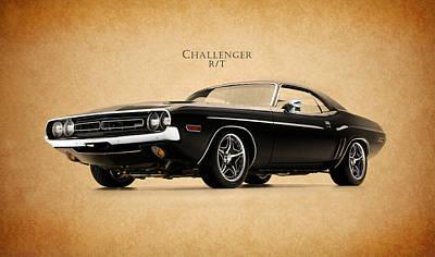 Dodge Challenger Print by Mark Rogan