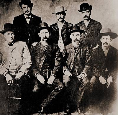 Bsloc Photograph - Dodge City Peace Commissioners by Everett