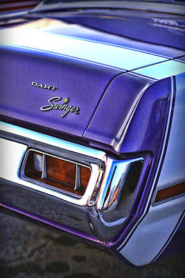 Drag Digital Art - Dodge Dart Swinger by Gordon Dean II