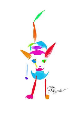 Dog Days II Original by Patricia Presseller