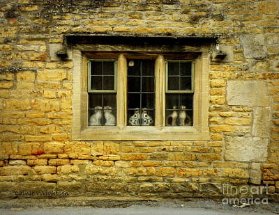 Doggies In The Window Print by Lainie Wrightson
