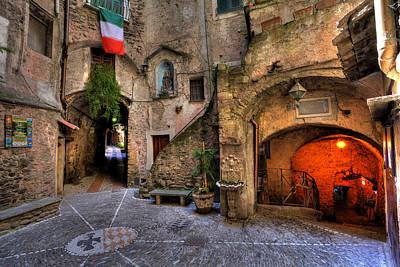 Wine Cellar Photograph - Dolceacqua 2 by Erik Fischer