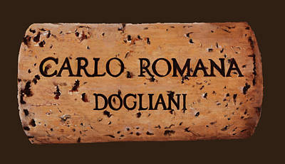 Carlo Painting - dolcetto Romana by Danka Weitzen