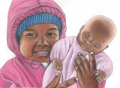 Ethnic Dolls Pastel - Dolly And Me by Paula  Parker