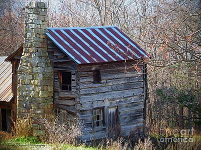 Dolly's Hearth - Pendleton County West Virginia Print by Teena Bowers