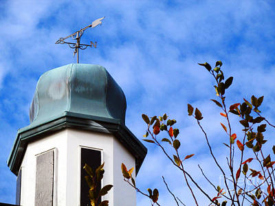 Dome Top Weathervane  Print by Don Baker