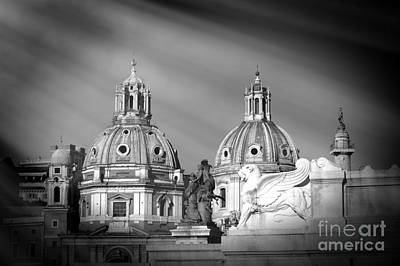 Domes Print by Stefano Senise