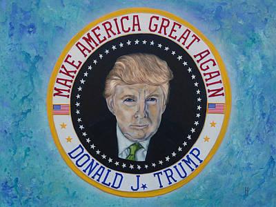 Donald J. Trump Original by Heather Wilkerson