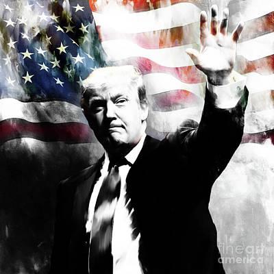 Donald Trump 01c Original by Gull G