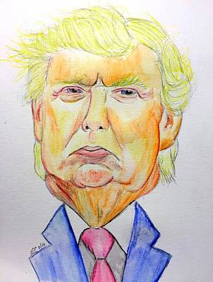Donald Trump Original by Scott Emerling