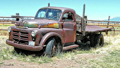 Truck Photograph - Done Dodge by Dilectus Rex