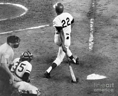 Mazeroski Photograph - Donn Clendon Strikes Out 1970 by William Jacobellis