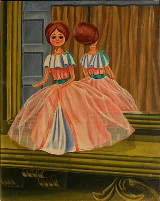 Classical Doll Painting - Donna Doll by Rosencruz  Sumera