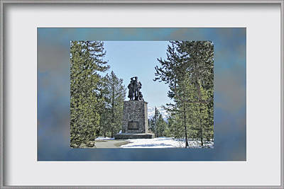 Cannibalism Photograph - Donner Monument by Donna Kennedy
