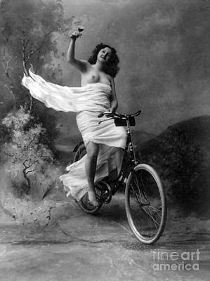 Suggestive Photograph - Dont Drink And Drive Nude Model 1897 by Science Source