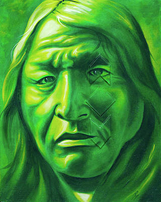 Chicano Art Painting - Dont Make Me Angry by Robert Martinez