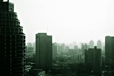 2012 Photograph - Doomsday Shanghai by Christine Till