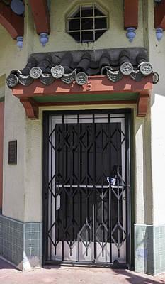 Brotherhood Photograph - Door In Chinatown by Teresa Mucha