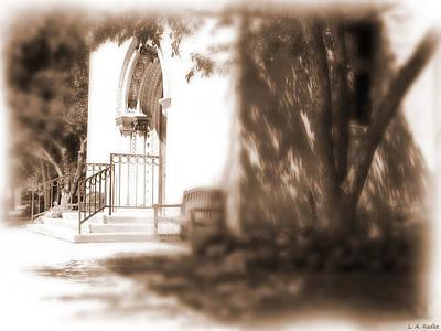 Door To Yesterday Print by Lauren Radke