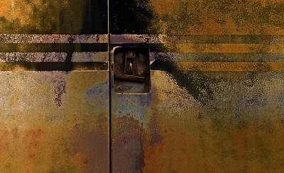 Doors And Stripes Print by Murray Bloom