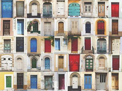 Photograph - Door's Collection by Sotiris Filippou