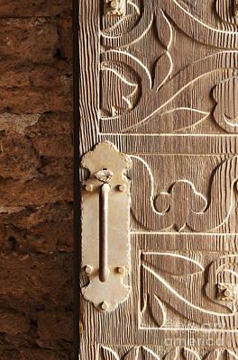Doorway Of The Past Print by Sandra Bronstein