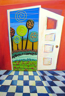 Destiny Mixed Media - Doorway To Somewhere by Anne Nye