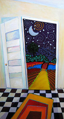 Destiny Mixed Media - Doorway To Tomorrow by Anne Nye