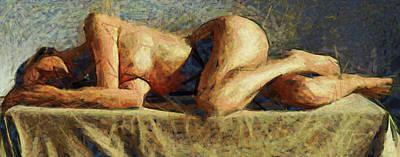 R.i.p Mixed Media - Dormire Somnus by Sir Josef Social Critic - ART