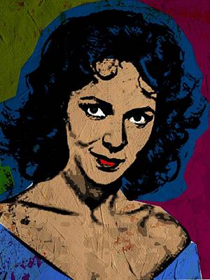 Dorothy Dandridge-2 Print by Otis Porritt
