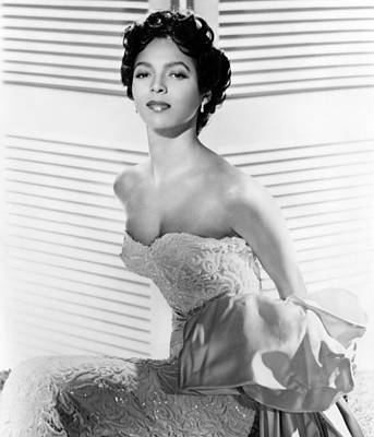 Dorothy Dandridge, Ca. 1950s Print by Everett