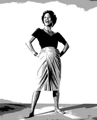 Dorothy Jean Dandridge Print by Charles Shoup