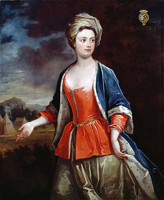 Charles Jervas Painting - Dorothy Viscountess Townshend by Charles Jervas