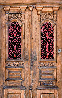 Old House Photograph - Double Door by Carlos Caetano