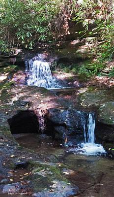 Photograph - Double Falls by Kay Lovingood
