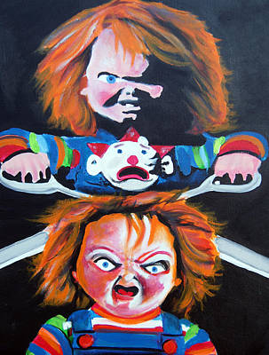 Double Trouble  Print by Ottoniel Lima