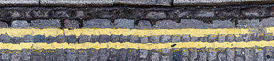 Double Yellow Lines Print by Chay Bewley