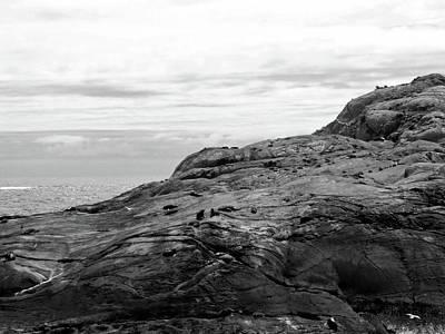White Photograph - Doubtful Sound, New Zealand No. 21-1 by Sandy Taylor