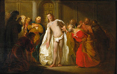 Nikolaus Knuepfer Painting - Doubting Thomas by Nikolaus Knuepfer