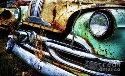 Wrecked Cars Photograph - Down In The Dumps 1 by Bob Christopher