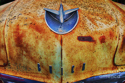 Wrecked Cars Photograph - Down In The Dumps 14 by Bob Christopher